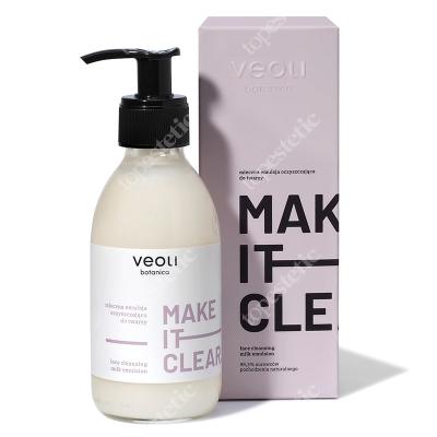 Veoli Botanica Make It Clear Mleczna emulsja oczyszczająca do twarzy 200 ml