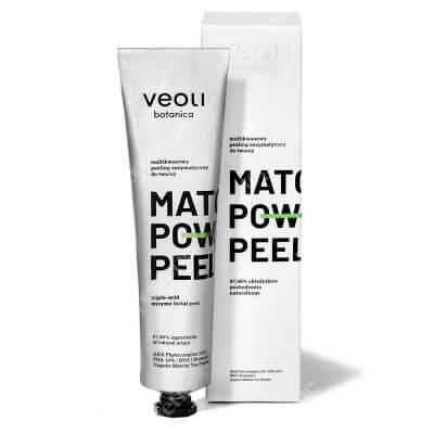 Veoli Botanica Matcha Power Peel Multikwasowy peeling enzymatyczny 75 ml