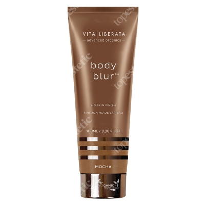Vita Liberata Body Blur Instant HD Skin Finish Zmywalny make-up do ciała Dark / Fonce Mocha 100 ml