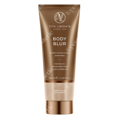 Vita Liberata Body Blur Instant HD Skin Finish Zmywalny make-up do ciała Light / Clair Latte Light 100 ml