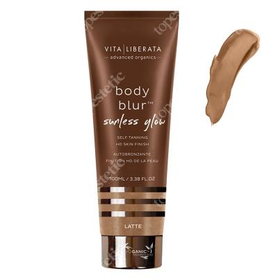 Vita Liberata Body Blur Sunless Glow HD Skin Finish Emulsja samoopalająca z bronzerem - kolor Latte 100 ml