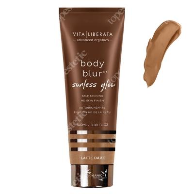Vita Liberata Body Blur Sunless Glow HD Skin Finish Emulsja samoopalająca z bronzerem - kolor Latte Dark 100 ml