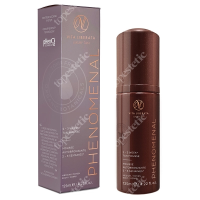 Vita Liberata pHenomenal 2-3 Week Tan Mousse Medium Samoopalająca pianka - odcień średni 125 ml