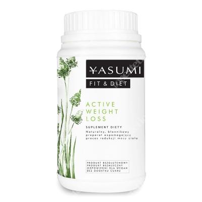 Yasumi Active Weigh Loss Naturalny, błonnikowy preparat w formie suszu, wspomagający proces redukcji masy ciała 250g