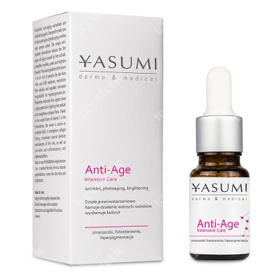 Yasumi Anti Age Intensive Care Serum z kwasem ferulowym i witaminą C 10 ml