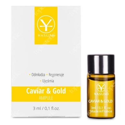Yasumi Caviar&Gold Ampułka ze złotem i kawiorem 3 ml