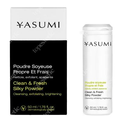 Yasumi Clean & Fresh Silky Powder Oczyszczający proszek do twarzy 50 ml