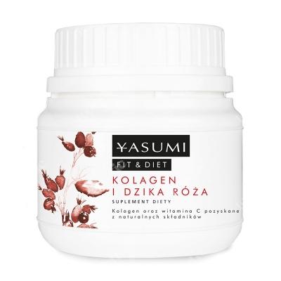 Yasumi Collagen and Wild Rose Kolagen i Dzika Róża 100 g