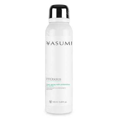 Yasumi Deo Spray With Probiotics For Women Dezodorant z probiotykami dla kobiet 150 ml
