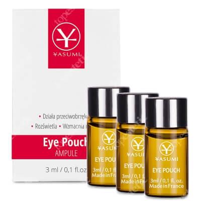 Yasumi Eye Pouch Set ZESTAW Ampułka przeciwobrzękowa pod oczy 3 szt x3 ml