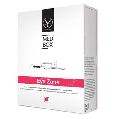 Yasumi Eye Zone MedBox Zestaw 5 ampułek na okolice oczu o działaniu przeciw obrzękowym, nawilżającym i redukującym zmarszczki.