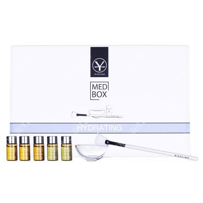 Yasumi Hydrating MedBox Zestaw 5 skoncentrowanych ampułek o intensywnym działaniu nawilżającym