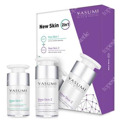 Yasumi New Skin 2 in 1 Specjalistyczny balsam po zabiegach 15 ml + Krem 30 ml