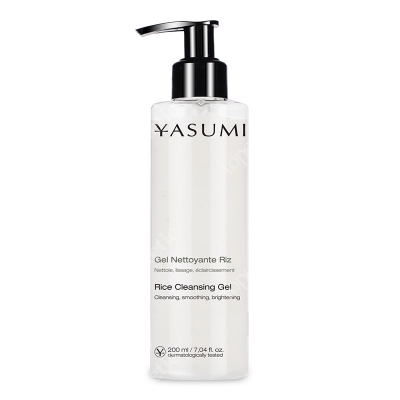 Yasumi Rice Cleansing Gel Żel do twarzy z ryżem 200 ml