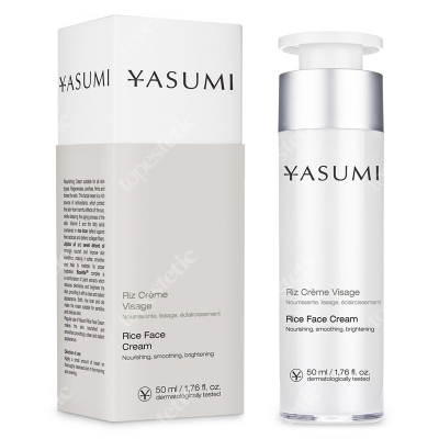 Yasumi Rice Face Cream Ryżowy krem do twarzy 50 ml