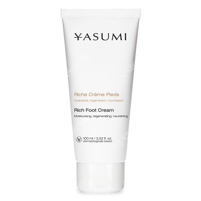 Yasumi Rich Foot Cream Krem do stóp z mentolem 100 ml