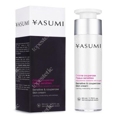 Yasumi Sensitive & Couperose Skin Cream Łagodzący krem na naczynka 50 ml