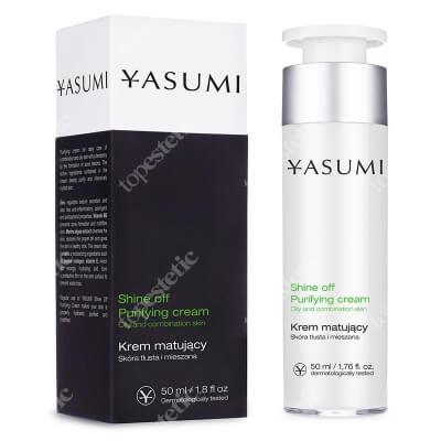 Yasumi Shine Off Purifying Cream Matujący krem na trądzik 50 ml