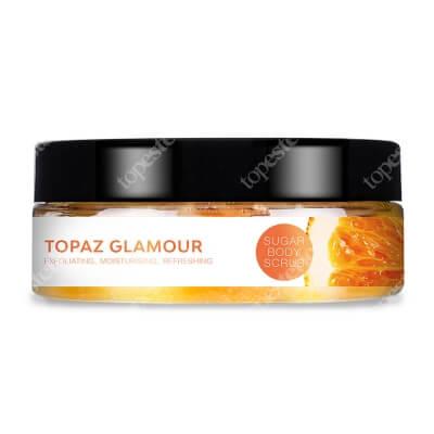 Yasumi Topaz Glamour Cukrowy peeling do ciała z pomarańczą 220 g
