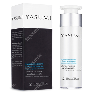 Yasumi Ultimate Moisture Hydrating Cream Nawilżający krem z kolagenem 50 ml