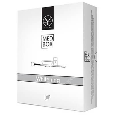 Yasumi Whitening MedBox Zestaw 5 skoncentrowanych ampułek o działaniu rozjaśniającym i wyrównującym koloryt cery