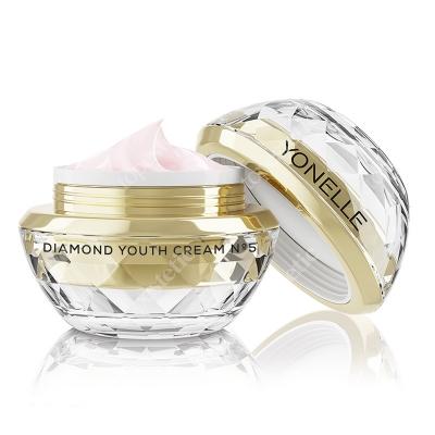 Yonelle Diamond Youth Cream N˚5 Diamentowy krem młodości na twarz i usta 50 ml