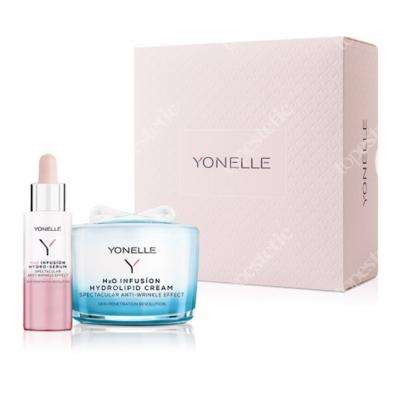 Yonelle h2o Infusion Hydrolipid Cream + Infussion Hydro-Serum Zestaw prezentowy Hydrolipidowy krem 55 ml + serum 30 ml