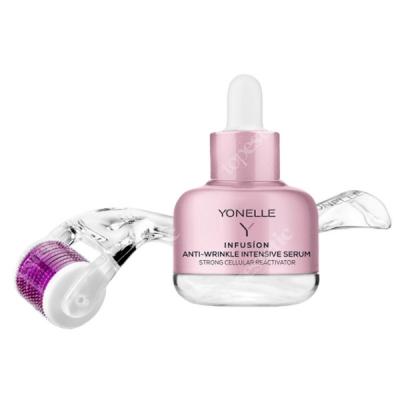 Yonelle Infusion Anti-Wrinkle Intensive Serum + Mezoroller Zabieg mikronakłuwania, Mezoroller + Serum 30 ml