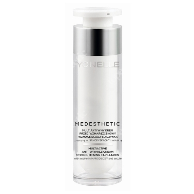 Yonelle Medesthetic Multiactive Anti-Wrinkle Cream Strenghtening Capillaries Multiaktywny krem przeciwzmarszczkowy wzmacniający naczynka 50 ml