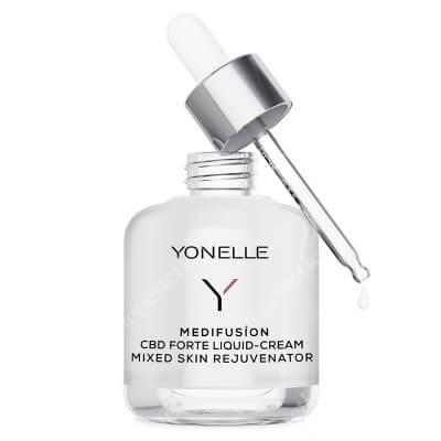 Yonelle Medifusion CBD Forte Liquid Cream Mixed Skin Rejuvenator Medifusion płynny krem z CBD odmładzający do cery mieszanej 50 ml