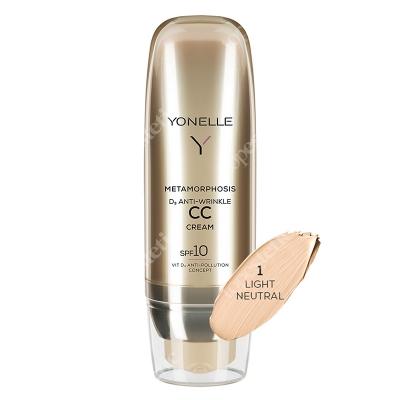 Yonelle Metamorphosis D3 Anti-Wrinkle CC Cream SPF 10 Przeciwzmarszczkowy krem z filtrem, Light Neutral 50 ml