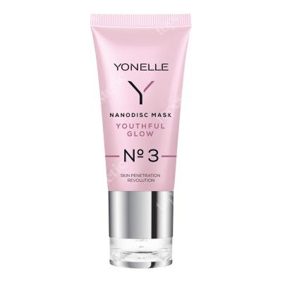 Yonelle Nanodisc Mask nr3 - Youthful Glow Maska nanodyskowa - młodzieńczy blask 35 ml