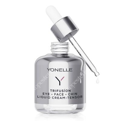 Yonelle Trifusion Eye - Face - Chin Liquid Cream-Tensor Płynny krem-napinacz pod oczy, na twarz i podbródek 50 ml