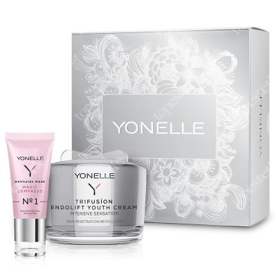 Yonelle Yonelle Set 2 ZESTAW Endoliftingujący krem młodości 55 ml + Maska nanodyskowa 35 ml