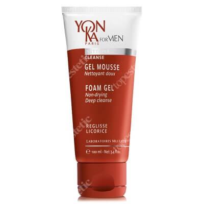Yonka Gel Mousse Żel oczyszczający dla mężczyzn 100 ml
