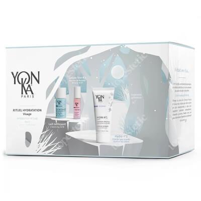 Yonka Hydration Offer 2020 ZESTAW Mleczko do demakijażu 30 ml + Tonik 10 ml + Krem nawilżający 50 ml