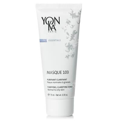 Yonka Masque 103 Maska oczyszczająco-detoksykująca do skórny normalnej i tłustej 75 ml