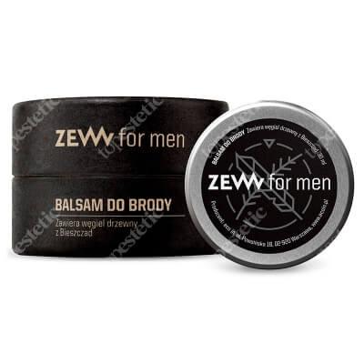 Zew For Men Balsam Do Brody Zawiera węgiel drzewny z Bieszczad 30 ml