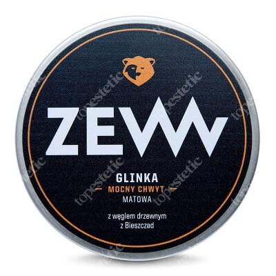 Zew For Men Glinka Mocny Chwyt Matowa Glinka do włosów z węglem drzewnym 100 ml