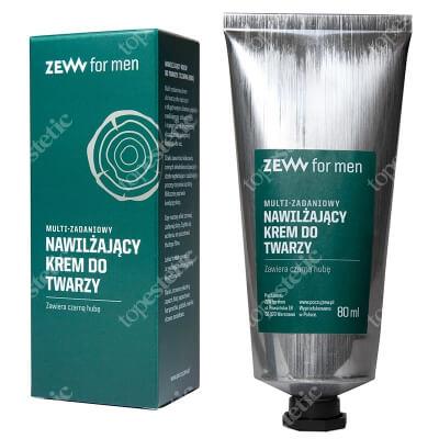 Zew For Men Multi-Zadaniowy Nawilżający Krem Do Twarzy Zawiera czarną hubę 80 ml