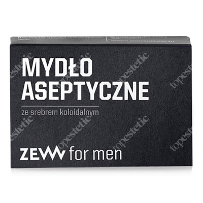 Zew For Men Mydło Aseptyczne Mydło ze srebrem koloidalnym 85 ml