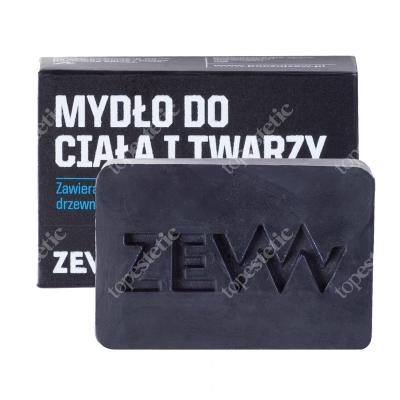 Zew For Men Mydło Do Ciała i Twarzy Zawiera węgiel drzewny z Bieszczad 85 ml