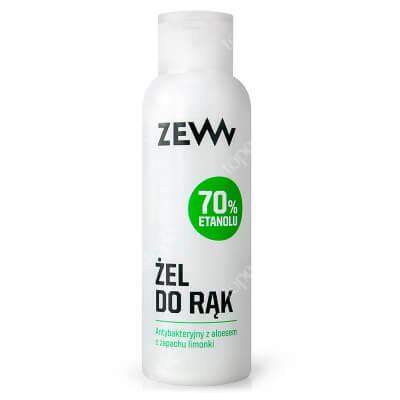 Zew For Men Żel Antybakteryjny Z Aloesem Zawiera 70% etanolu 100 ml