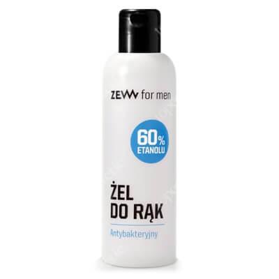 Zew For Men Żel Antybakteryjny Zawiera 60% etanolu 100 ml