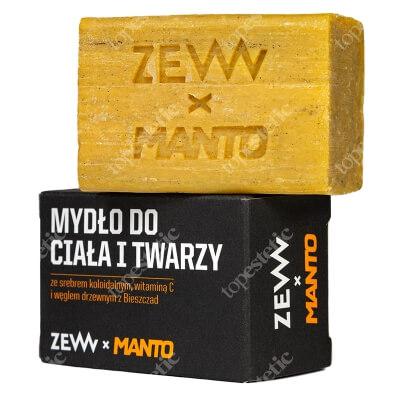 Zew For Men Zew For Men x Manto Soap Mydło do ciała i twarzy 85 ml