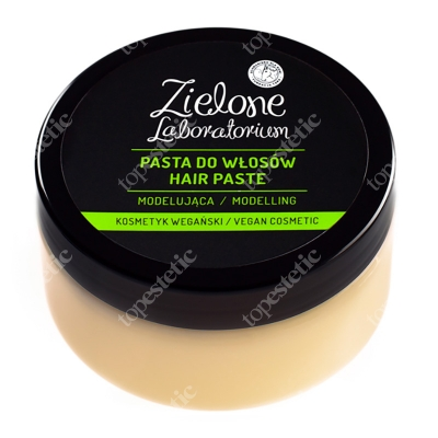 Zielone Laboratorium Modelująca Pasta Do Włosów Kosmetyk wegański 100 ml