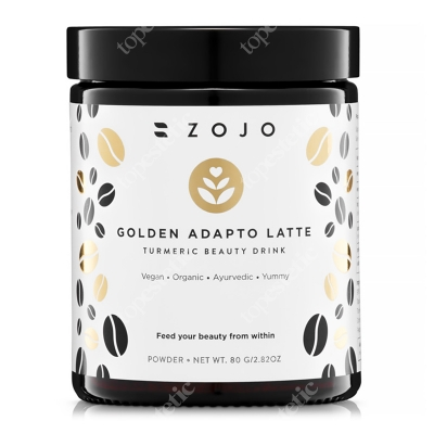 Zojo Golden Adapto Latte Beauty drink z kurkumą (złote mleko) 80 g
