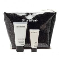 Academie Academie Derm Acte Creme Hydratante + Masque Multi-Vitamine ZESTAW do twarzy krem nawilżający + maska multiwitaminowa 50 ml + 15 ml