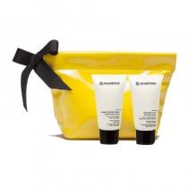 Academie Academie Nourishing Cream + Radiance Mask Aroma Krem Odżywczy 50 ml + Aroma Maska Rozświetlająca 50 ml + kosmetyczka