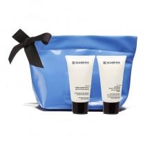 Academie Moisturizing Cream with Hyaluronic acid + Multivitamin Mask Zestaw do twarzy - Krem Nawilżający 50 ml + maska nawilżająca 50 ml + kosmetyczka